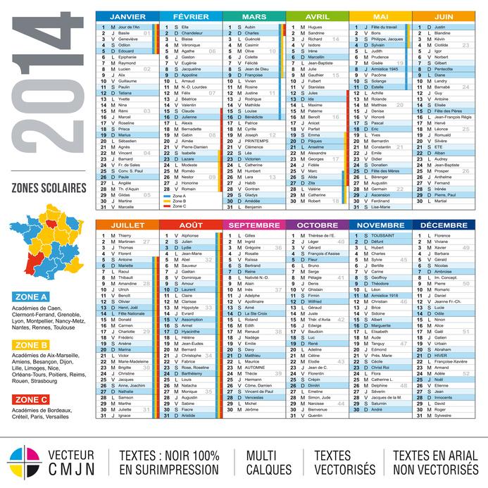 imprimer des calendriers 2014 - faire des calendriers 2014 -calendriers pas chers sur www.impression-ing.fr - faire des calendriers sur internet