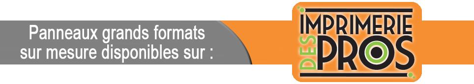 panneaux dibond, forex, akilux, translucide, PVC...