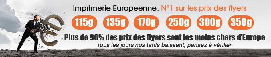 imprimer des flyers pas chers sur l'imprimerie europeenne
