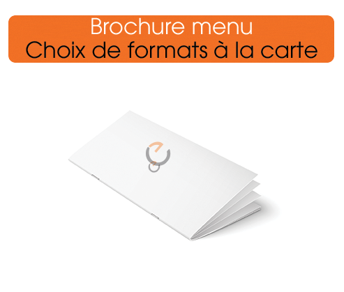 Imprimer des brochures menu de qualité, une fabrication made in france