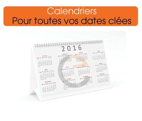 commander des calendriers 2016