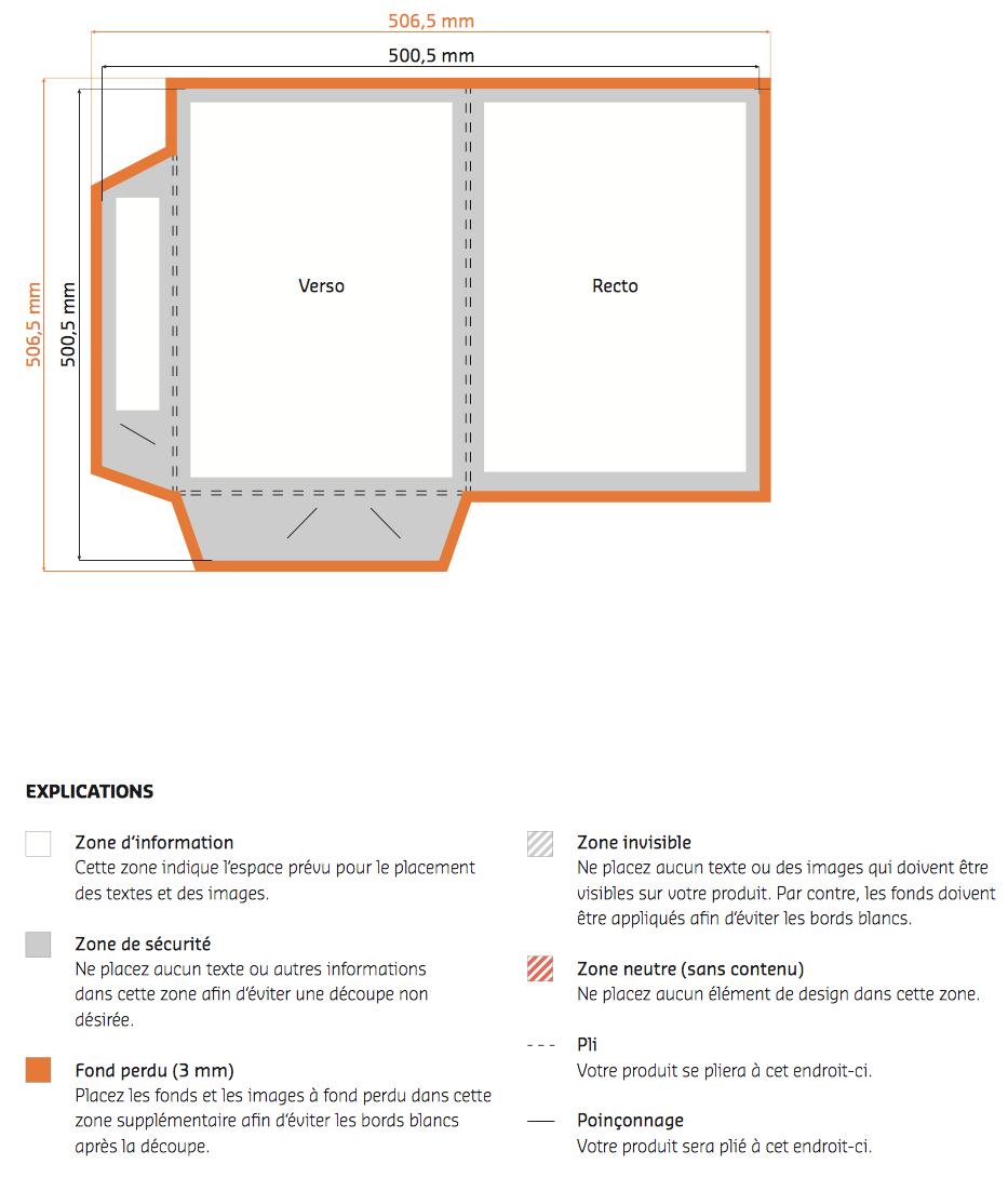 Chemise A4 Impression Recto Exterieur Papier 350g Encoche Carte De Visite