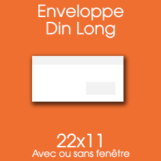 ENVELOPPE 10X22