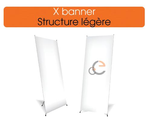 commander des x-banners à petits prix et rapidement