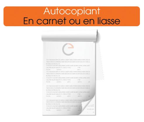 Impression de Carnet Autocopiant Personnalisé à Prix Discount