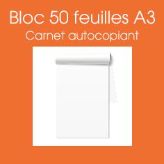 bloc autocopiant A3, commander des blocs autocopiants