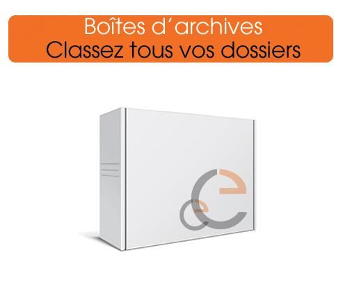 imprimer des boites d'archive pour classer tous vos documents