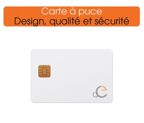 imprimer des cartes à puce personnalisées
