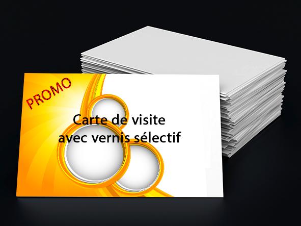 imprimer des cartes avec vernis selectif