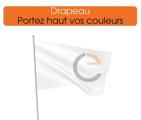 vos drapeaux personnalisés, portez haut vos couleurs