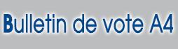 imprimer des bulletin de vote A4 pour Elections municipales et communautaires 2014 sur www.impression-ing.fr