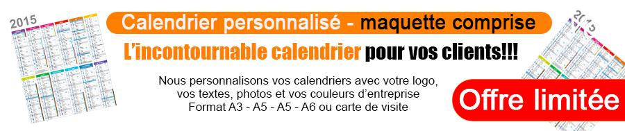 Calendrier Personnalis Format Carte De Visite