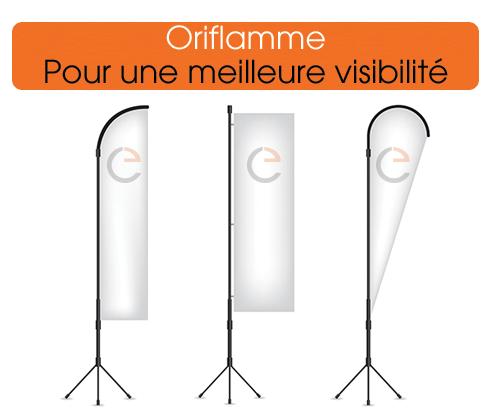 Commander des oriflammes pas cher sur www.imprimerie-europeenne.fr