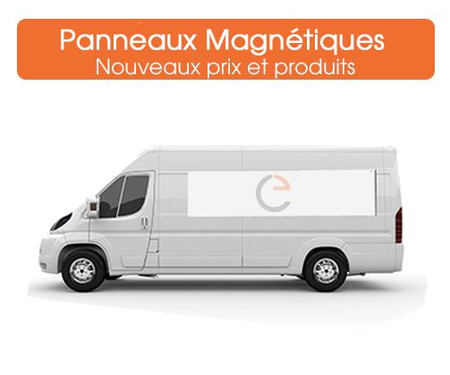 panneaux magnétiques pour véhicules