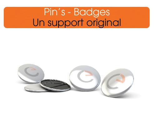le badge métal imprimer à vos couleurs pour optimiser votre communication