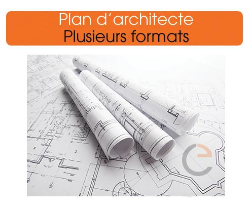 imprimer votre plan d'architecte grand format de qualité