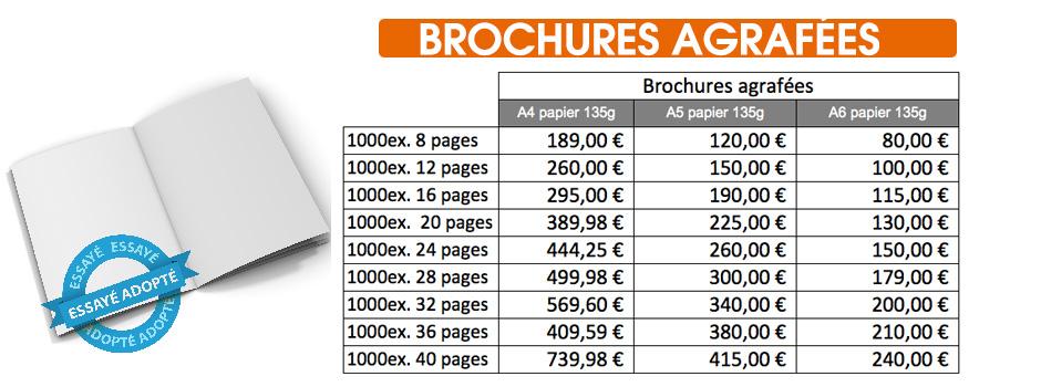 imprimer des brochures