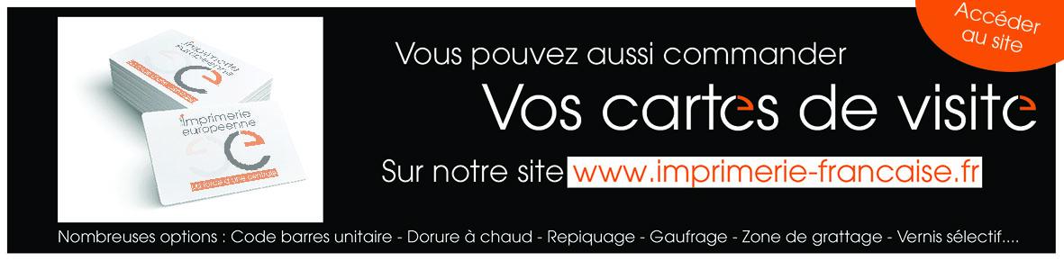 commander vos cartes de visite sur www.imprimerie-francaise.fr