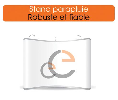 un stand parapluie simple a utiliser, montage rapide et resistant
