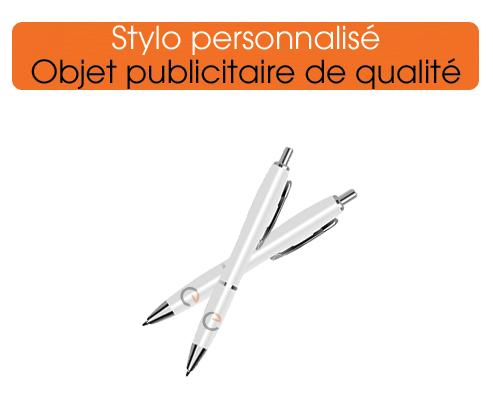 stylo personnalisé, cadeau idéal pour vos clients