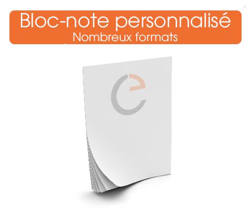 Commander vos blocs note personnalises sur notre imprimerie en ligne